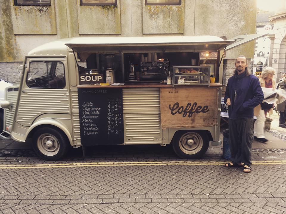 The Tube Coffee Van